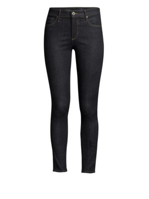 The Farrah Ankle Skinny Jeans in Admiral Blue