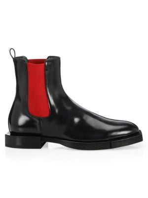 Leather Chelsea Boots by Alexander Mc Queen
