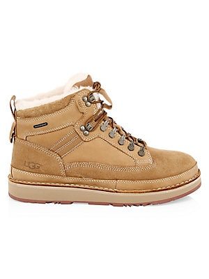 7a286dc443c Ugg - Avalanche Hiker Suede & Shearling Boots
