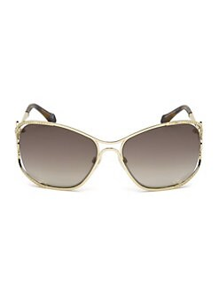 ee3b084488 Roberto Cavalli. 56MM Square Tinted Sunglasses