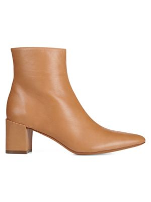Lanica Leather Booties by Vince