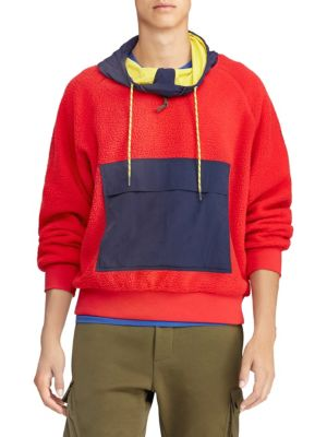 Polo Ralph Lauren Cottons Hi Tech Fleece Hoodie