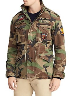 Camo Canvas Jacket GREEN. Product image. QUICK VIEW. Polo Ralph Lauren