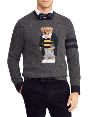 Polo Ralph Lauren Wools UniversityPolo Bear Wool & Cashmere Sweater