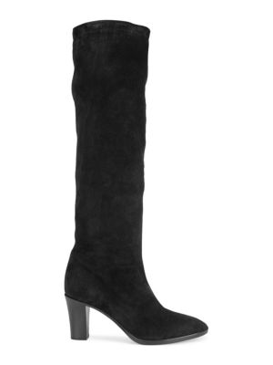 Casper Suede Knee High Boots by Vince