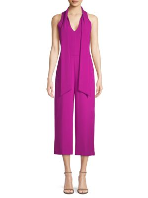 Tie Neck Jumpsuit by Trina Turk