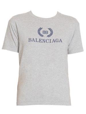 30636a978dc4 Balenciaga - Logo T-Shirt - saks.com