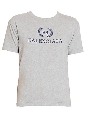 240c408c7602 Balenciaga - Logo T-Shirt - saks.com