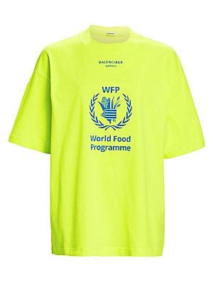 f883fb394 Balenciaga - X WFP Logo T-Shirt - saks.com