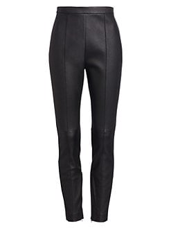 610b4f99961d7 Leather Leggings BLACK. QUICK VIEW. Product image