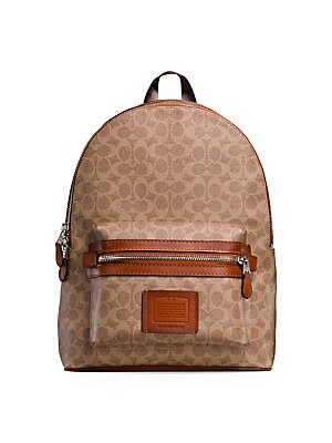 daec58b242c5 COACH - Academy Signature Coated Canvas Backpack - saks.com