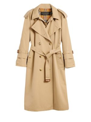 Double Layer Trench Coat by Burberry