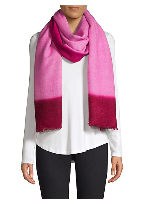 """Image of Simple sheer scarf crafted of lightweight cashmere. Cashmere. Dry clean. Imported. SIZE.36""""W x 90""""L."""
