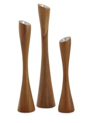 Namb 3 Piece Grove Candlestick Set