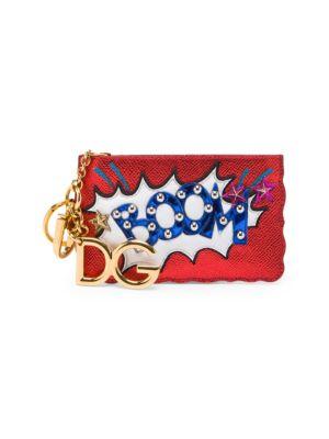 Metallic Zip Coin Purse by Dolce & Gabbana