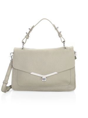 Botkier New York Vivi Leather Flap Satchel