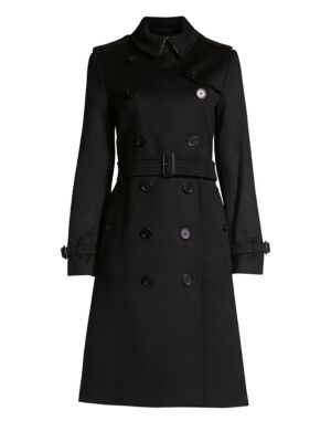 Kensington Cashmere Trench by Burberry