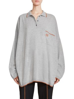 Oversize Poloneck Cashmere Sweater by Loewe