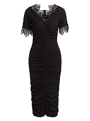 1764f38448e Shoshanna - Beaux Guipure Lace Sheath Dress - saks.com