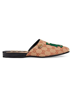 40e60bee68b Gucci - Original GG Slippers With LA Angels™ Patch - saks.com