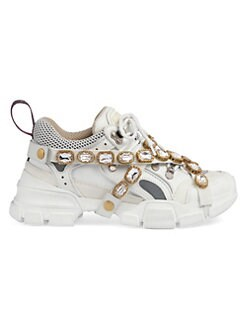 2dcbd8c2f7b Gucci. Sneaker With Removable Crystals