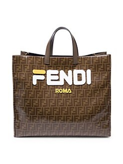 3e38e9e22710 Fendi Mania Shopper Bag BROWN. QUICK VIEW. Product image