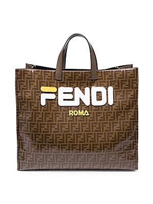 d6a81ed05a Fendi - Fendi Mania Shopper Bag - saks.com