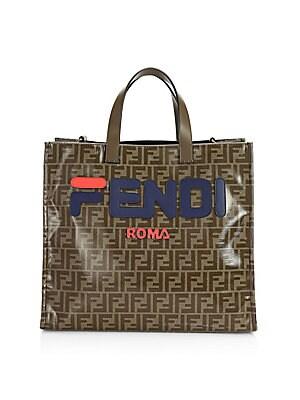 Fendi - Fendi Mania Shopper Bag - saks.com 67bc02106af88