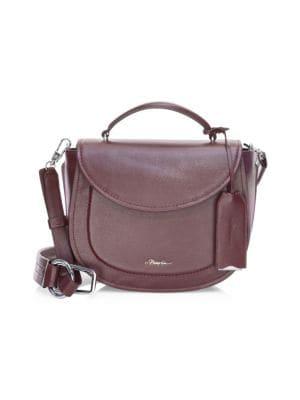 Hudson Leather Top Handle Saddle Bag