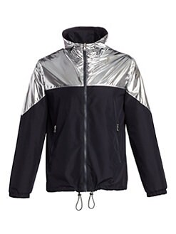 Saks Fifth Avenue. MODERN Metallic Colorblock Jacket 65bd3b15d1d27