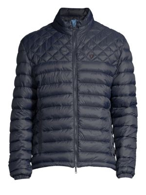STRELLSON Slim-Fit Quilted Jacket in Navy