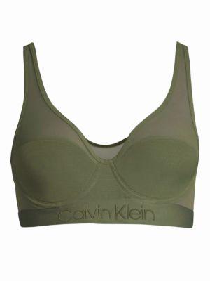 Calvin Klein Tonal Logo Light Lined Bralette