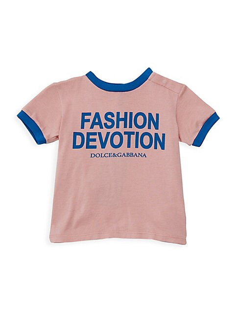 Baby Girls Fashion Devotion Short Sleeve TShirt