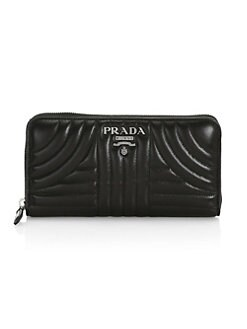 9c1155416b3c QUICK VIEW. Prada. Quilted Leather Continental Wallet