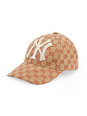 Gucci - Baseball Hat With NY Yankees™ Patch - saks.com 096948a4ee9