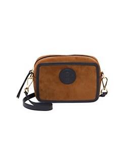 7cdbb4a280523 Fendi. Mini Suede Camera Bag