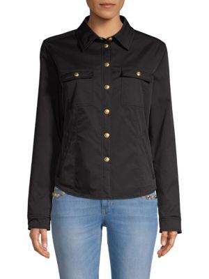 ESCADA SPORT Button Shirt Jacket in Black