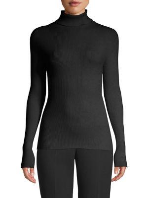 ESCADA SPORT Shanena Turtleneck Sweater in Black