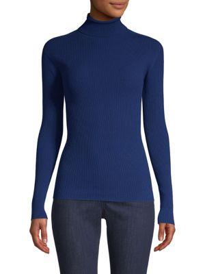 ESCADA SPORT Shanena Turtleneck Sweater in Indigo