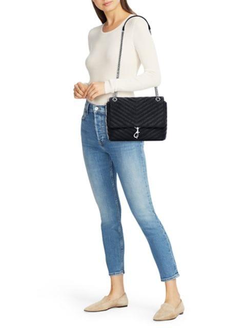Rebecca Minkoff Edie Quilted Leather Shoulder Bag | SaksFifthAvenue