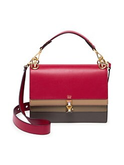 a8406503a139 QUICK VIEW. Fendi. Kan I Leather Satchel