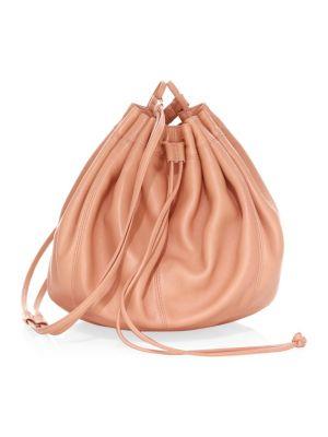 Elizabeth And James Dex Nappa Bucket Bag