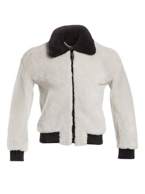 Shearling Bomber Jacket by Off White