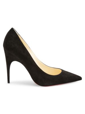 Alminette 100 Suede Pumps by Christian Louboutin