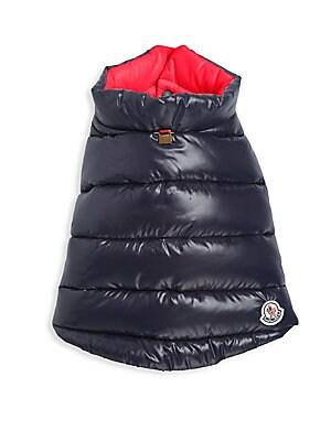 beb88199c Moncler - Reversible Quilted Dog Vest - saks.com