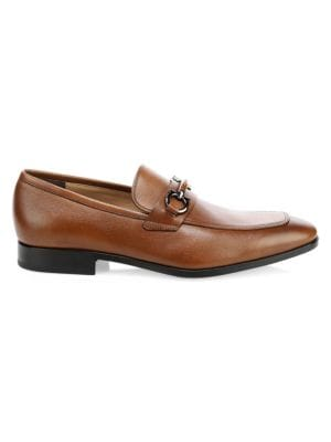 Benford Leather Loafers by Salvatore Ferragamo
