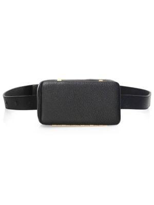 LUTZ MORRIS Evan Convertible Belt Bag in Black