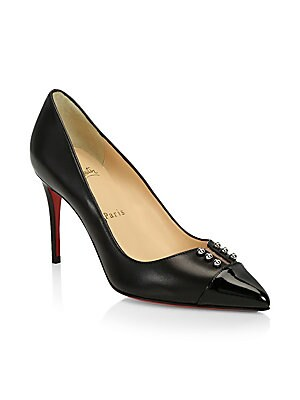 58b3af673ce8 Christian Louboutin - So Kate 120 Patent Leather Pumps - saks.com