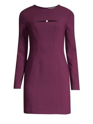 Keller Mini Dress in Potent Purple