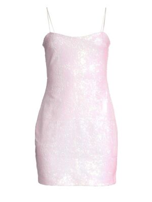 LIKELY Reese Sequined Cocktail Dress in Iridescent